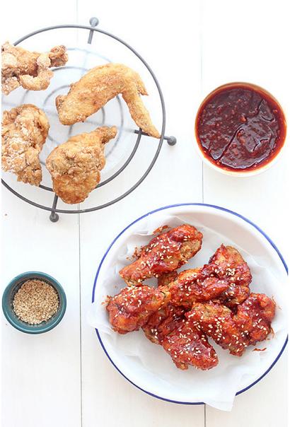 Korean Spicy Fried Chicken