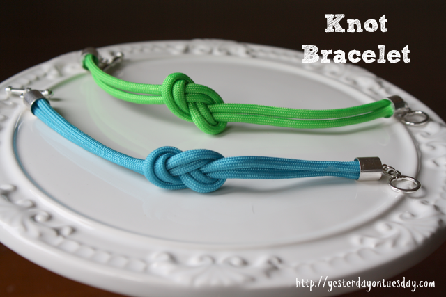 How to Make Knot Bracelets