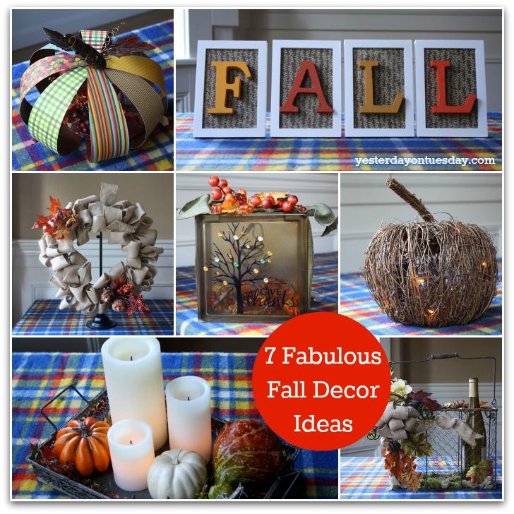 7 Fabulous Fall Decor Ideas