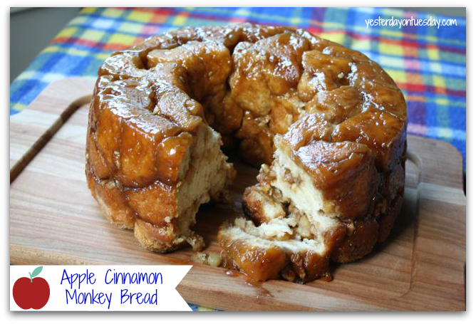 Easy Apple Cinnamon Monkey Bread