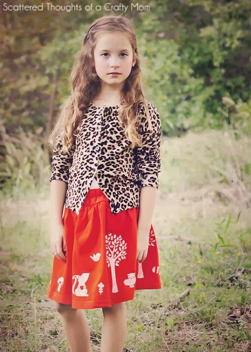 Autumn Woodland Skirt