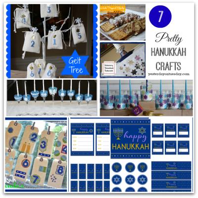 7 Pretty Hanukkah Crafts
