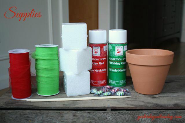 Styrofoam Christmas Decor