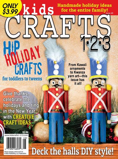 Kid's Crafts 123 Magazine