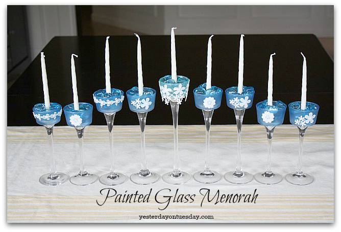 7Pretty Hanukkah Crafts
