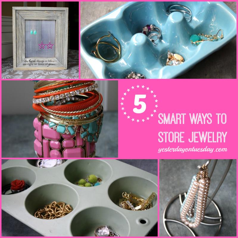 5 Smart Ways to Store Jewelry