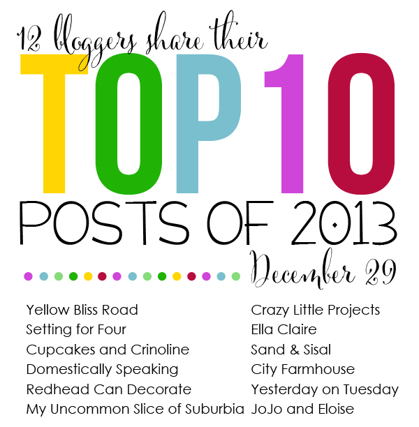 Top 10 Posts Blog hop