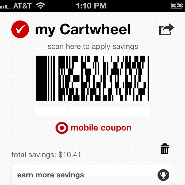 Use Target's easy Cartwheel App to save money at Target