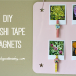 DIY Washi Tape Magnets