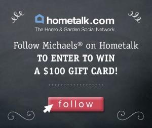Michaels Hometalk Giveaway