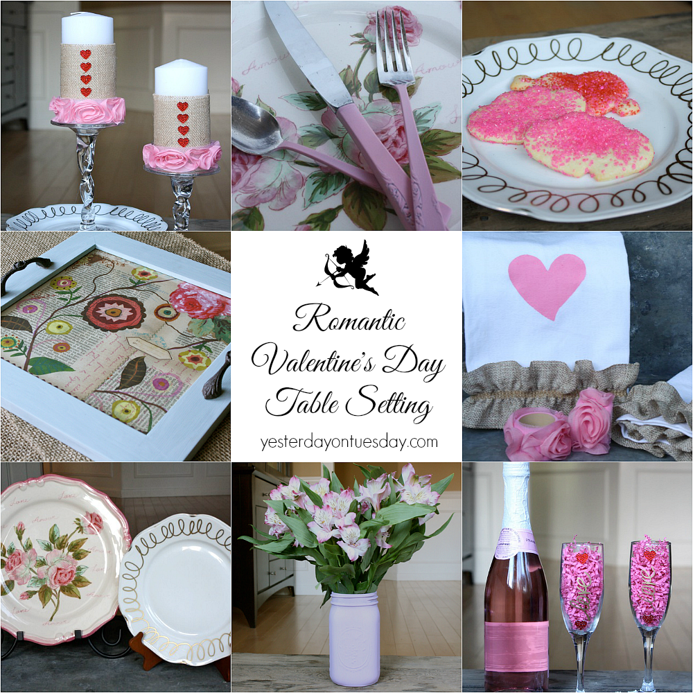 Valentines Day Table Setting1 Png