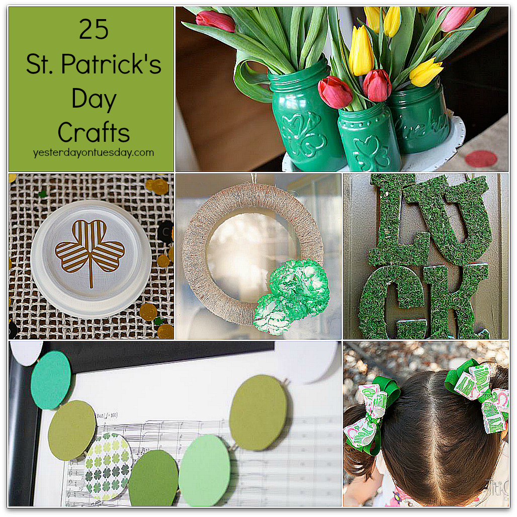 25 St. Patrick's Day Crafts Featuring You