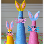 Styrofoam Bunny Craft