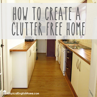 Create Clutter Free Home