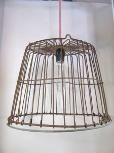 Egg Basket Hanging Lamp