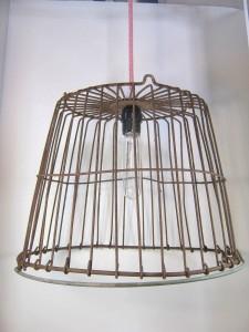 Egg Basket Hanging Lamp