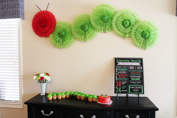 Hungry Caterpillar Party from Simly Salvage