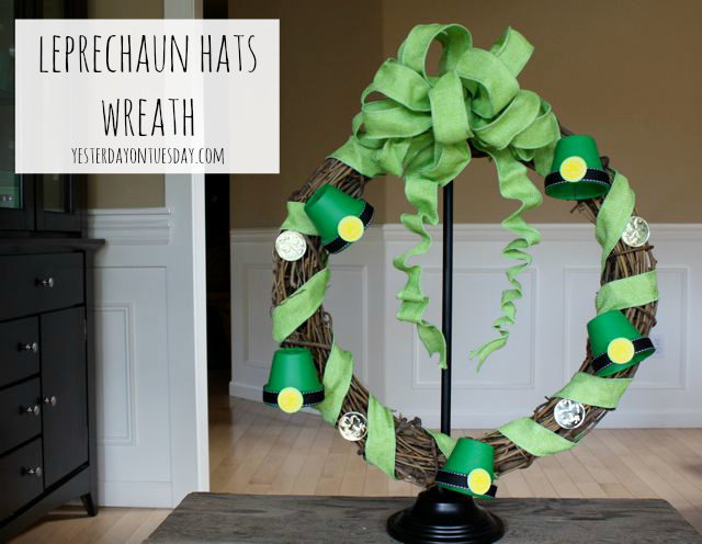 Leprechaun Hats Wreath