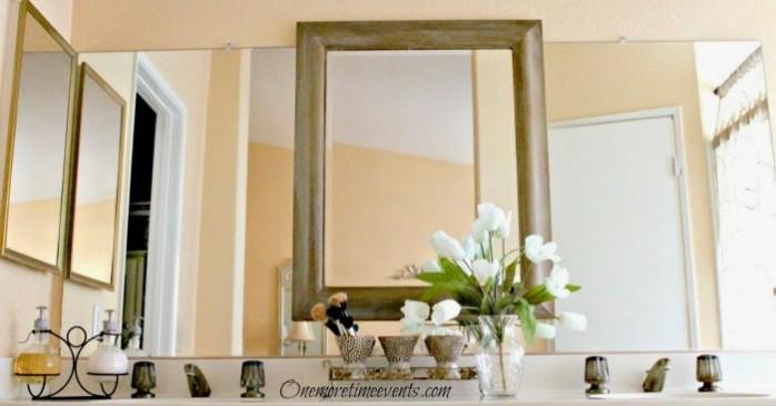 Master Bath Mirror Spotless