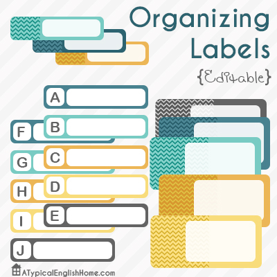 OrganizingLabelsPrintable