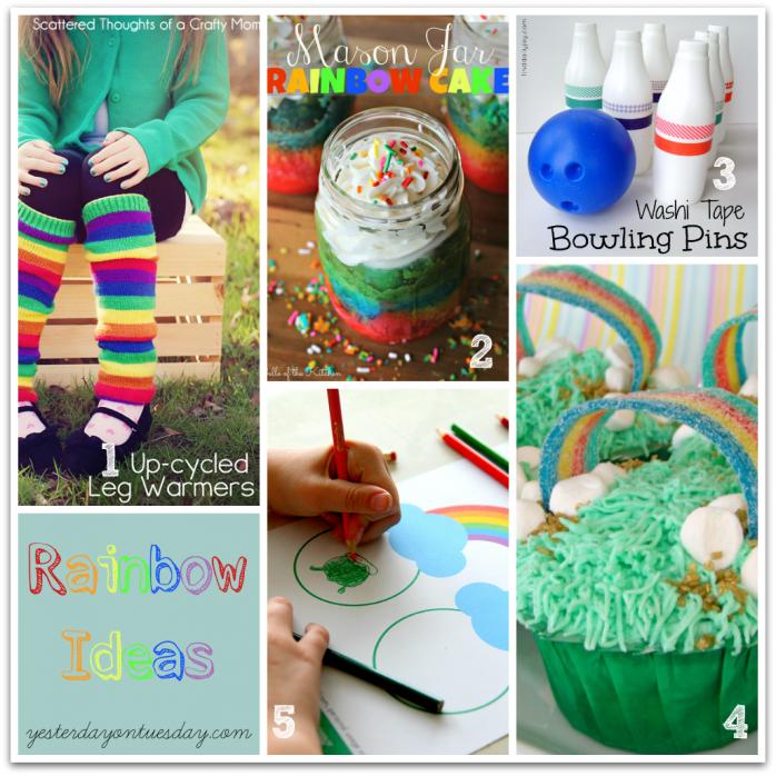 Project Inspire{d}: Rainbow Ideas
