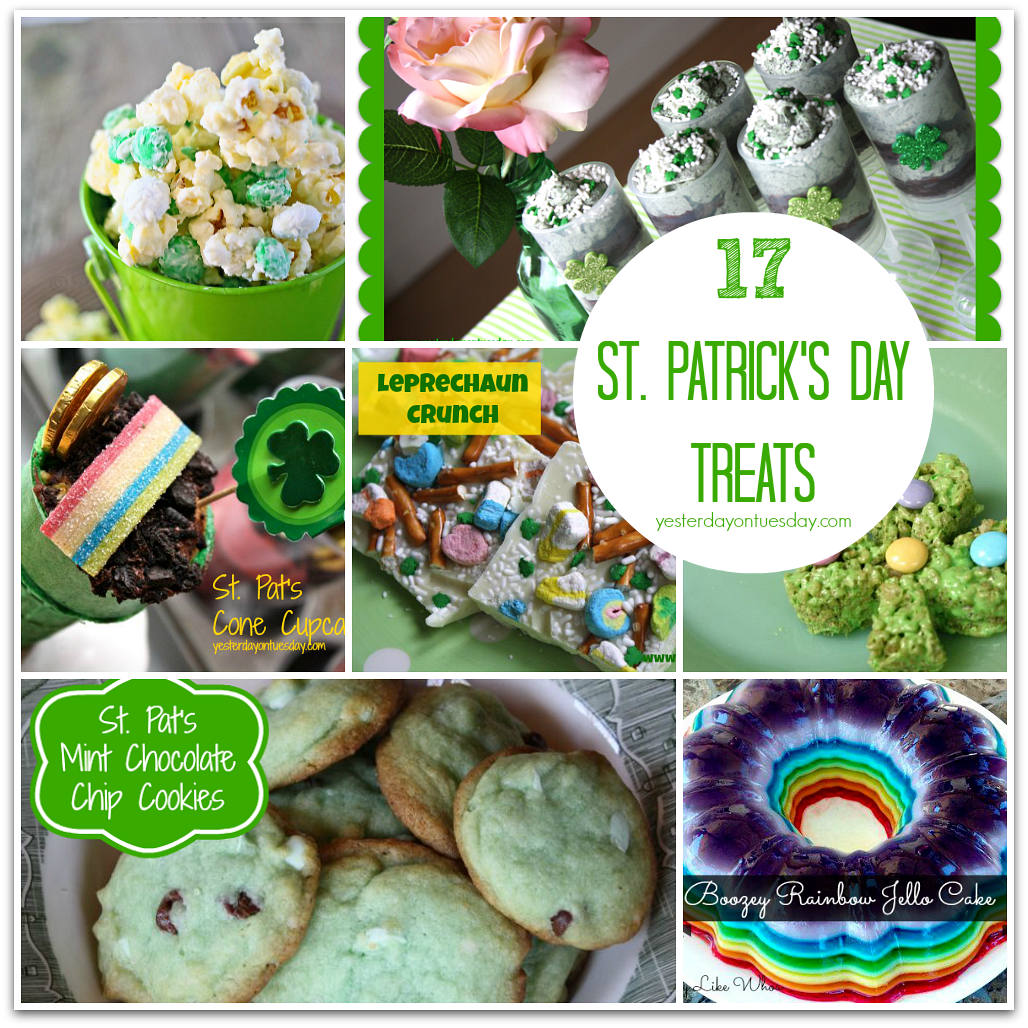 17 Delicious St. Patrick's Day Treats