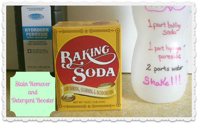 Stain Remover and Detergent Booster