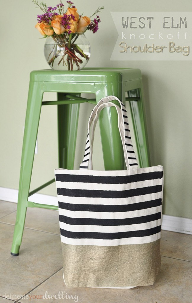 West Elm Bag by Delineate Your Dwelling
