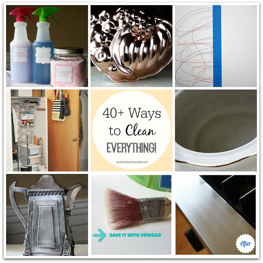 40+ Ways Clean Everything