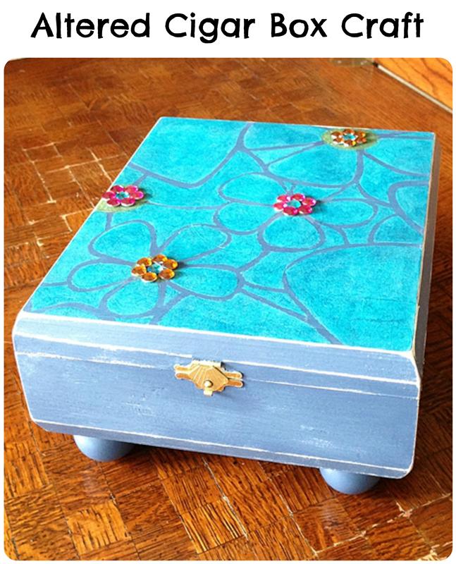Altered Cigar Box DIY