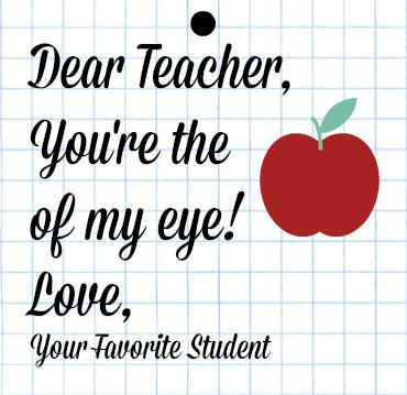 Apple of My Eye Teacher Printable-1