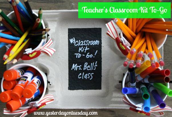 Cardboard Tray to Classroom Kit