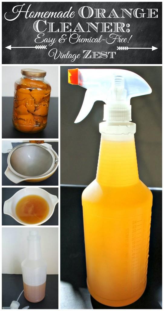DIY Homemade Orange Cleaner - Easy & Chemical-Free 1