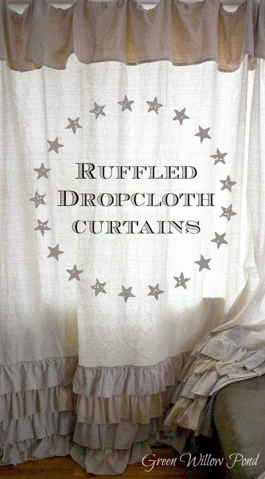 Dropcloth to Curtains