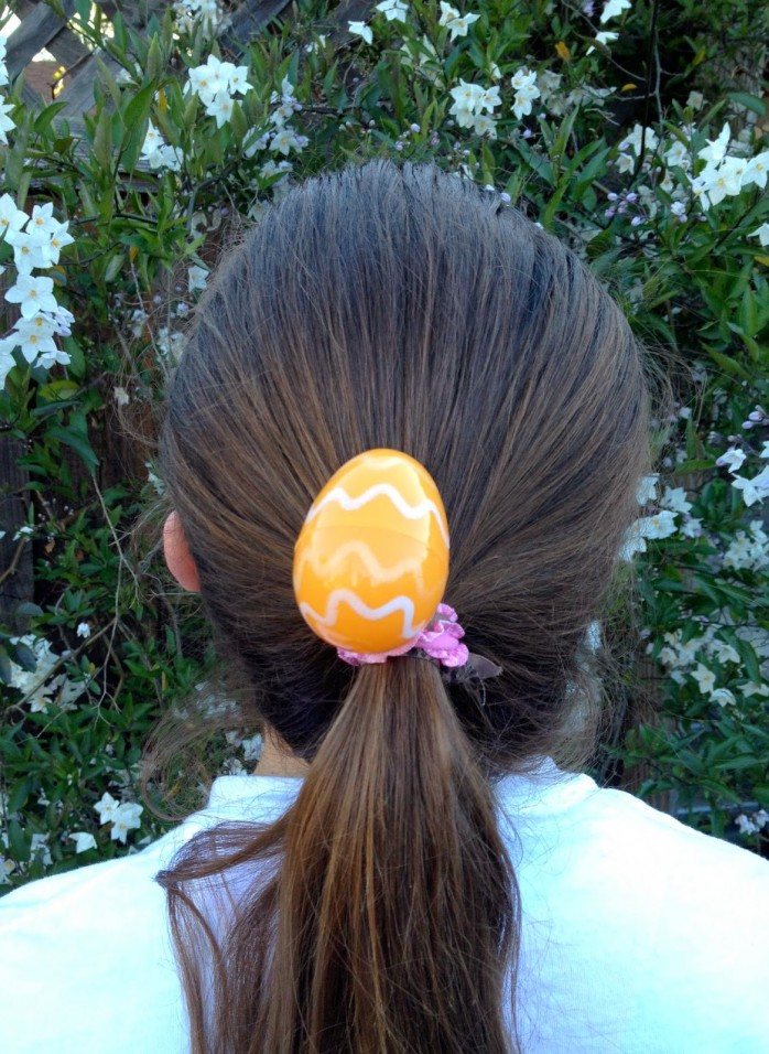 Easter Egg Hair Ties