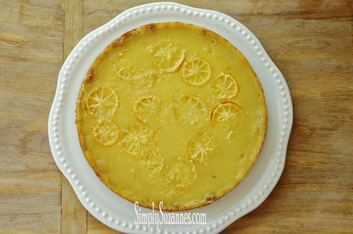 Lemon Honey Tart