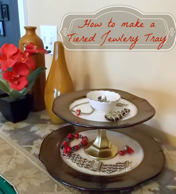 Plates to Jewelry Tray
