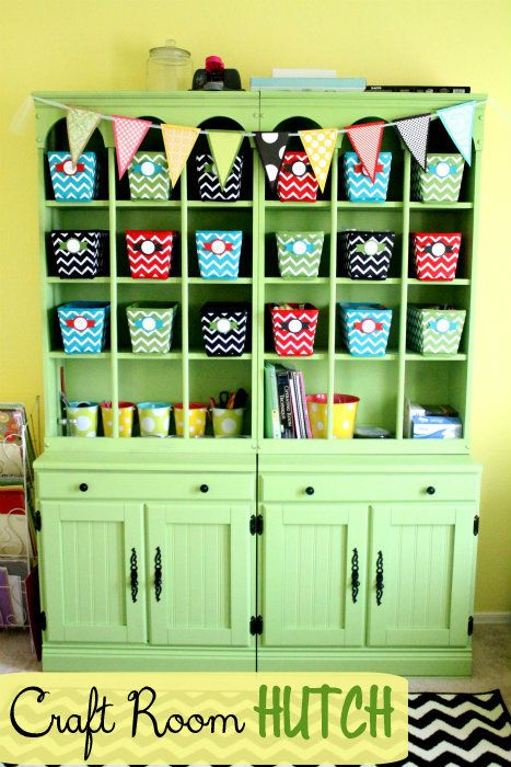 Craft Room Hutch