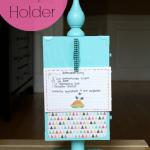 DIY Recipe Holder #recipeholder #weddinggifts