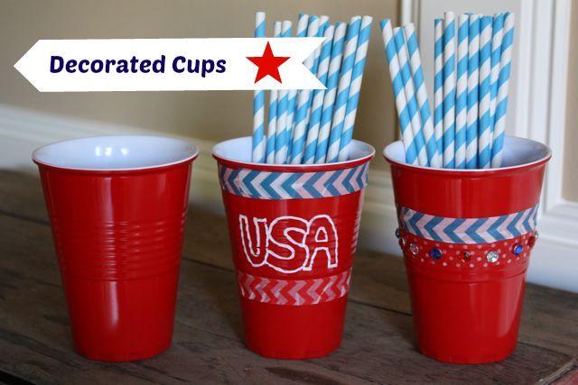 Patriotic Cups