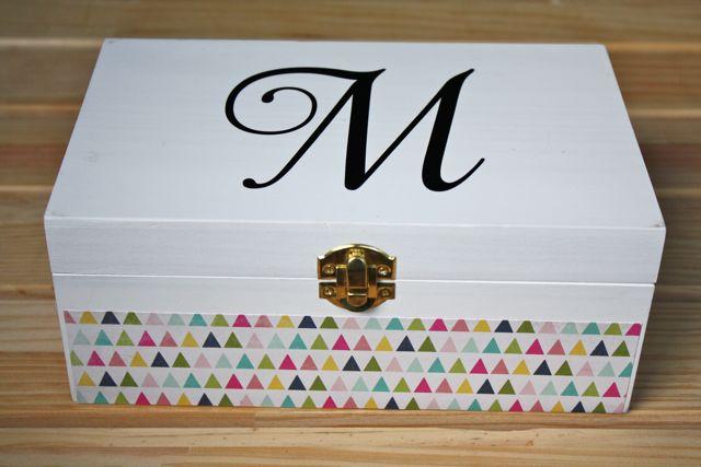 Monogrammed Jewelry Box 6