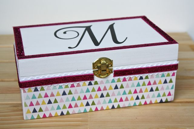 Monogrammed Jewelry Box 9