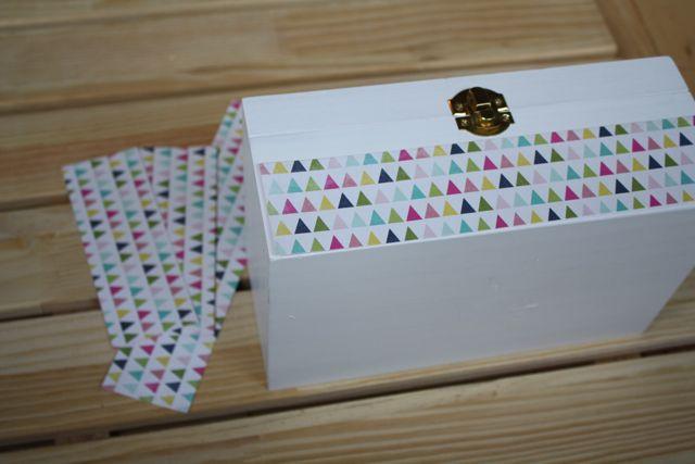 Monogrammed Jewelry Box Paper