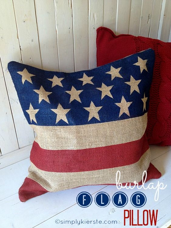 Patriotic Pillow