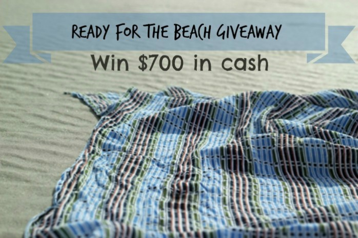 Enter to win $700 in the Beach Giveaway