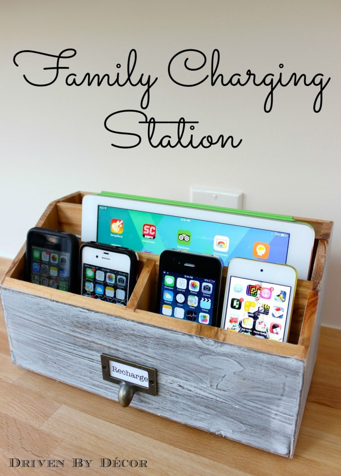 family charging station phone ipad iPhone usb WM labeled