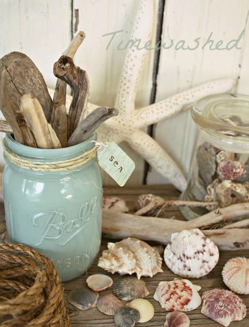 Coastal Vase by Timewashed