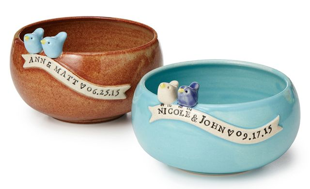 Custom Wedding Bowls from UncommonGoods