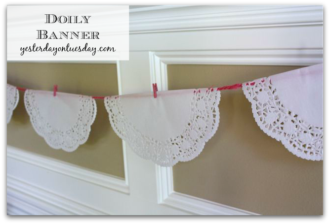 Simple Doily Banner