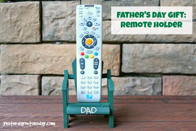 DIY Remote Holder